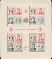 MONACO Blocs Feuillets ** - 3A, (point Jaune Sur Un Exemplaire): Croix Rouge 1949 - Cote: 480 - Monaco