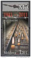 """Moldova 2011 """"50 Years Of First Deportation"""" 1v Quality:100% - Moldavie"""