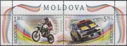 "Moldova 2015 "" Motocross.Autocross "" 2v Zd Quality:100% - Moldavie"
