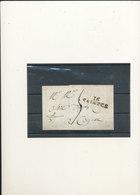 CURSIVE 1830 - 1801-1848: Voorlopers XIX