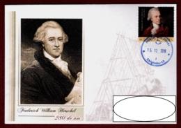 "Moldova 2018 ""280th Anniversary Of Friedrich William Herschel (1738-1822) Of The English Astronomer"" Quality:100% - Moldavië"