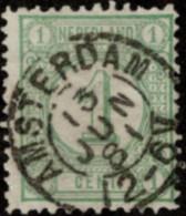 "NTH SC #35c U 1876 Numeral W/SON ""AMSTERDAM/13 JUN 81/12-6V"" CV $0.25 - Used Stamps"