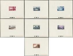 FRANCE Epreuves De Luxe EPL - 1036/42, 7 épreuves: Tourisme 1955 - Cote: 300 - Epreuves De Luxe