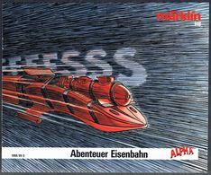 """Catalogue  """"MÄRKLIN ALPHA"""" - Année 1988/89 - D. - Littérature & DVD"""