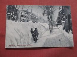 Quebec > Montreal Mansfield Street In Winter   Ref 3809 - Montreal