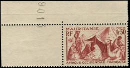 MAURITANIE Poste ** - 112A, Non émis, Cdf: 1.50f. Brun (Maury 118) - Cote: 200 - Mauritanie (1906-1944)