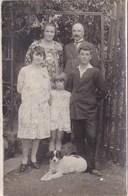 Carte Photo D'une Famille - Les Cousins Dussert De Montsauche - Généalogie Nièvre Morvan - Montsauche Les Settons