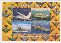 Niger 1998 50 Jahre Nato  Kriegsschiffe Block ** - Barcos