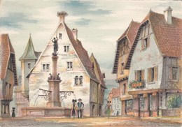 Visages De La France - En Alsace - Dessin - Alsace