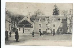 Auxonne , Vue Moins Courante De L'hotel De Ville Voir état - Auxonne