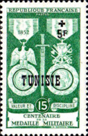 Tunisie Poste N** Yv:358 Mi:395 Centenaire Médaille Militaire - Tunisia (1888-1955)