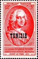 Tunisie Poste N** Yv:359 Mi:396 Journée Du Timbre Comte D'Argenson - Tunisie (1888-1955)