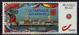 Belgien Belgie Belgium - Olympiade Antwerpen 1920 - 2020 - MiNr 4229 A - Sommer 1920: Antwerpen