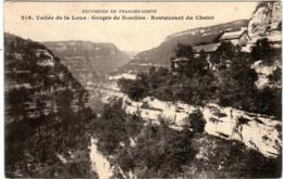 5LT 438. VALLEE DE LA LOUE - MOUTHIER HAUTE PIERRE  - RESTAUREANT DU CHALET - France