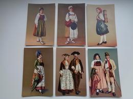 Beau Lot De 10 Cartes Postales De Suisse  Schwyz  Costumes  Costume      Mooi Lot Van 10 Postkaarten Zwitserland - Postcards