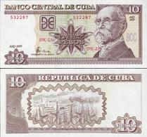 Cuba 2009 - 10 Pesos - Pick 117k UNC - Cuba