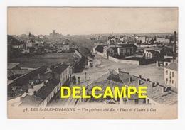 DD / 85 VENDÉE / LES SABLES D' OLONNE / VUE GENERALE CÔTÉ EST  -  PLACE DE L' USINE À GAZ - Sables D'Olonne
