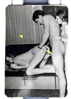 PHOTO  EROTIQUE  PORNO FEMININ  NU NUDE DES ANNEES  '60-'70 Dim.5.60x8.60cm VOYEZ SCAN - Belleza Feminina (1941-1960)