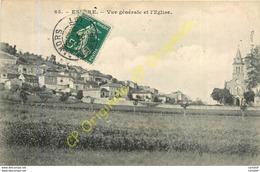 46.  ESPERE .  Vue Générale Et L'Eglise . - Autres Communes