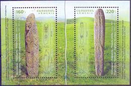 Used Armenia 2017, Archaeolgical Treasures Of Armenia : Dragon Stones S/S. - Armenië