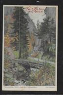 AK 0399  Semmering - Motiv Aus Den Adlitzgräben / Otto Stoitzner Künstlerkarte Um 1938 - Semmering
