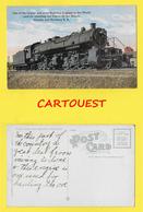 CPA U.S.A. Minnesota ♦♦☺TRAIN Duluth, Missabe And Iron Range Railway  ֎ Northern Railway  ֎ Locomotive - Duluth