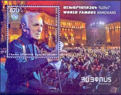 Used Armenia 2018,Charles Aznavour ( French Chansonnier, Composer ) S/S. - Arménie
