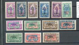 OUB 33 - YT 43 à 48 - 50-51-54 à 57 - 59 * - Oubangui (1915-1936)