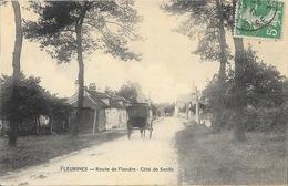 Fleurines (Oise) Route De Flandre, Côté Senlis, Entrée Du Village - Frankrijk