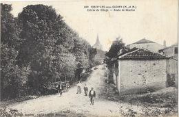Morcelles-sous-Gugney (Meurthe-et-Moselle) Entrée Du Village, Route De Vézelise - Edition Georges, Carte N° 809 - Francia
