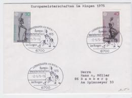 Germany Cover 1975 Ludwigshfen Am Rhein Europa Championship Wrestling - Lutte