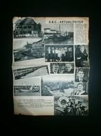 OUDENAARDE - KORTRIJK - ZEEBRUGGE - Documents Historiques