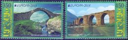 Used Armenia - Nagorno Karabakh Artsakh  2018, Europa -Bridges 2V. - Armenia