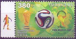 Used Armenia 2014, World Cup Football 1V. - Armenië
