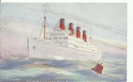 WAR SHIP BOAT - NAVIRE De GUERRE -  The Union Castel Royal Mail Steamer WINDSOR CASTLE - W0450-II - Guerra
