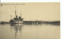 WAR SHIP BOAT - NAVIRE De GUERRE -  Base De La Défense Côtière à Bruges Ligne Maritime Belge - W0451-II - Guerra