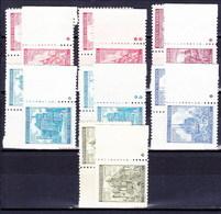 Boheme Et Moravie 1941 Mi 68-72 (Yv 50+53-5), (MNH)** - Bohemia & Moravia