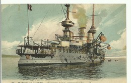 WAR SHIP BOAT - NAVIRE De GUERRE -  Le Saint-Louis Cuirasssé D'escadre - W0452-II - Guerra