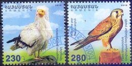 Used Armenia 2016, Birds Of Prey 2V. - Armenië
