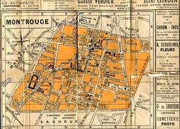 Plan De MONTROUGE Années 1930 - Mappe