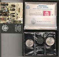 RSM 1982 GARIBALDI FDC - San Marino