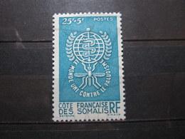 VEND BEAU TIMBRE DE LA COTE FRANCAISE DES SOMALIS N° 304 , X !!! - Unused Stamps