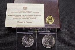 RSM 1984 OLIMPIADI FDC - San Marino