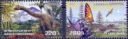 Used Armenia 2018, Prehistoric Animals 2V. - Arménie