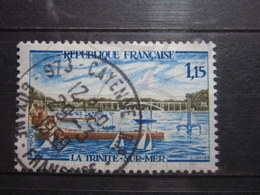 "VEND BEAU TIMBRE DE FRANCE N° 1585 , OBLITERATION "" CAYENNE "" !!! - Französisch-Guayana (1886-1949)"