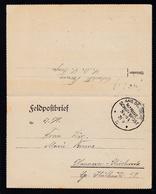 KAIS. DEUTSCHE MARINE-SCHIFFSPOST Nr. 94 21.9.17 (= SMS Freya) Auf Feldpost- - Germany