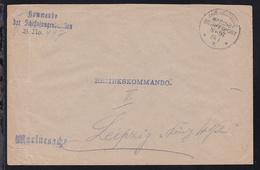 KAIS. DEUTSCHE MARINE-SCHIFFSPOST No 97 24.1.16 (= SMS König Wilhelm) + L3  - Germany