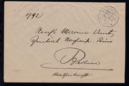 KAIS. DEUTSCHE MARINE-SCHIFFSPOST No 162 11.4.17 (= SMS Lothringen) + L3 - Germany