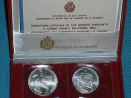 RSM 1990 MONDIALI DI CALCIO FDC - San Marino