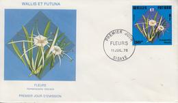 Enveloppe  FDC  1er  Jour   WALLIS  ET  FUTUNA    Fleurs   SIGAVE    1978 - FDC